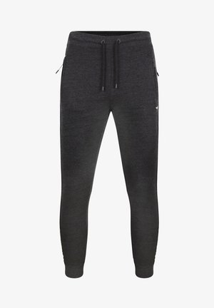 MORRIS - Tracksuit bottoms - charcoal marl
