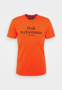Peak Performance - ORIGINAL TEE - Printtipaita - super nova - 0