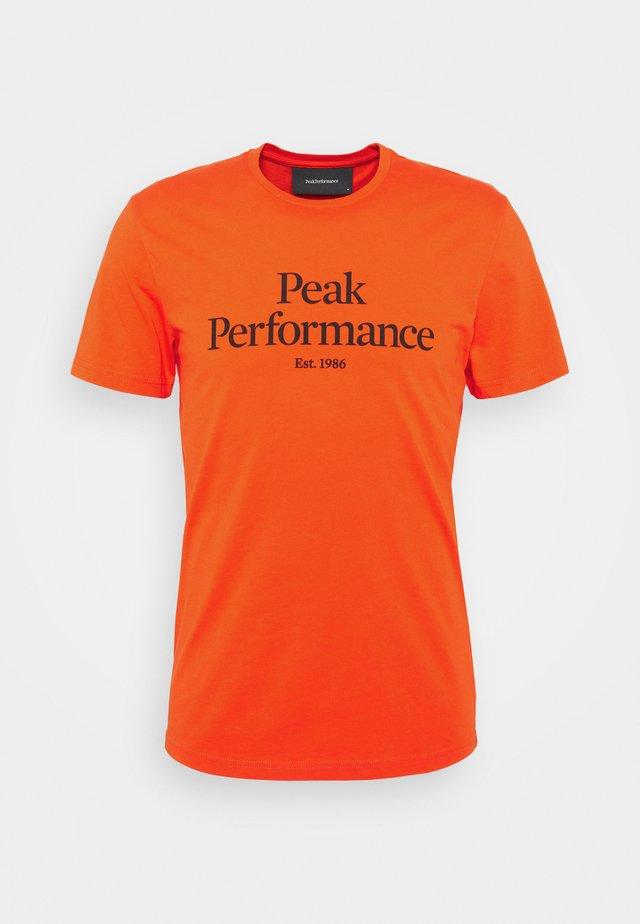 ORIGINAL TEE - T-shirt print - super nova