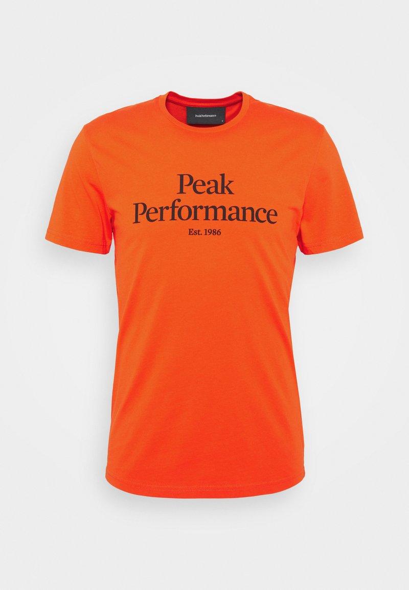 Peak Performance - ORIGINAL TEE - Printtipaita - super nova