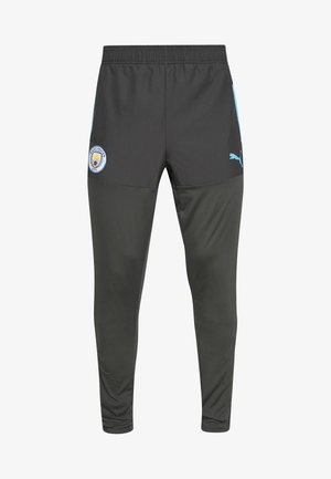 MANCHESTER CITY STADIUM TRAINING PANTS - Club wear - asphalt/team light blue