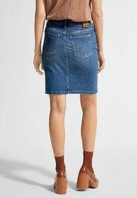comma casual identity - Pencil skirt - blue - 2