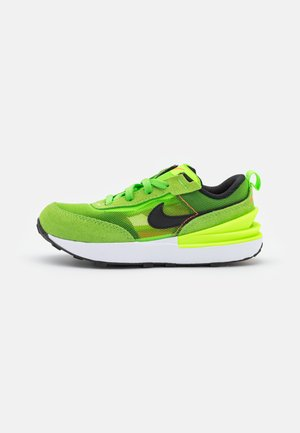 WAFFLE ONE UNISEX - Trainers - electric green/black/mean green/hyper crimson