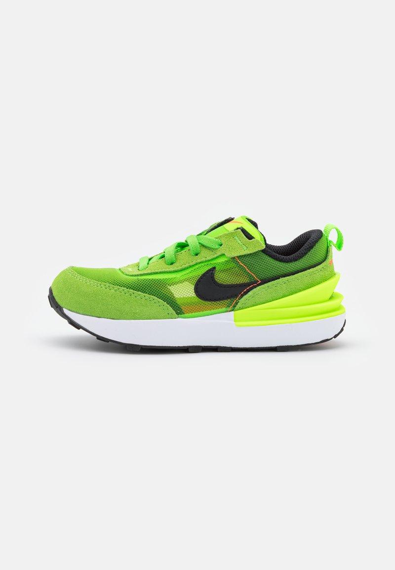 Nike Sportswear - WAFFLE ONE UNISEX - Trainers - electric green/black/mean green/hyper crimson