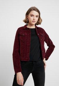 ONLY - ONLWESTA GLOBAL JACKET - Summer jacket - tawny port - 0