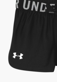 Under Armour - PLAY UP SOLID SHORTS - Short de sport - black/metallic silver - 3