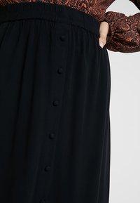 Vero Moda - VMGAEL CALF - A-line skirt - black - 4