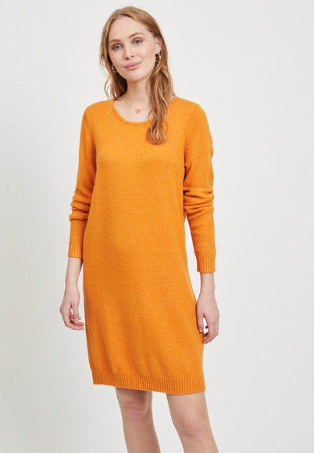 VIRIL DRESS - Jumper dress - gold