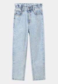 Grunt - DICTE DOOP PAPER BAG - Jeans Relaxed Fit - light blue - 0