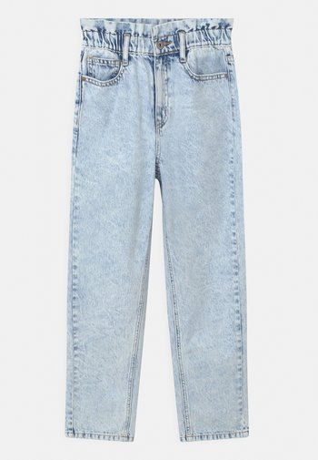 DICTE DOOP PAPER BAG - Relaxed fit jeans - light blue