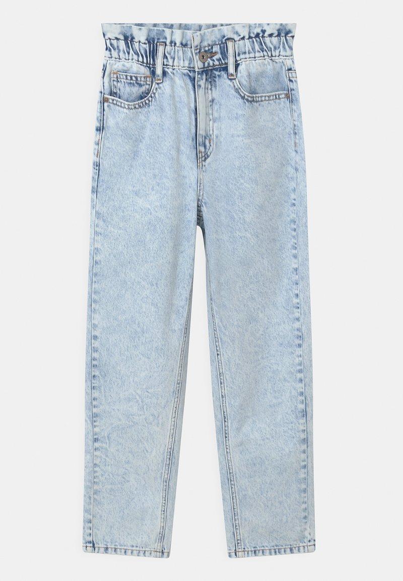 Grunt - DICTE DOOP PAPER BAG - Jeans Relaxed Fit - light blue