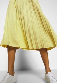 Opus - RICCA - A-line skirt - fresh lemon - 4