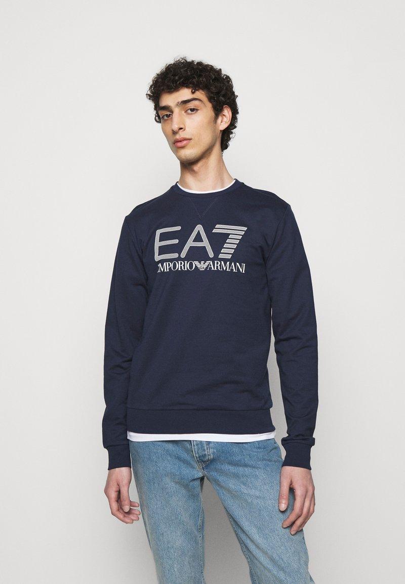 EA7 Emporio Armani - Sweater - dark blue/white