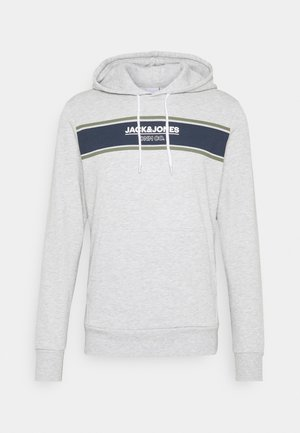 JJSHAKER HOOD - Luvtröja - light grey