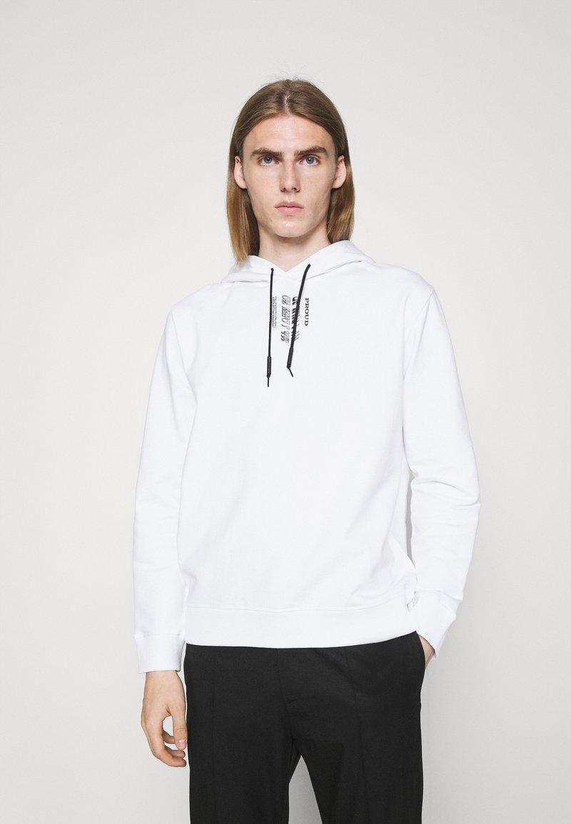 HUGO - DARRETT - Sweatshirt - white