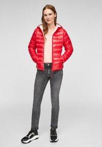 Q/S designed by - MIT KAPUZE - Winter jacket - red - 1