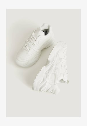 UGLY-DAD - Sneakers laag - white