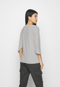 Kaffe - LIMIANA - Long sleeved top - chalk/black - 2