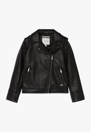 ANDROMEDA - Faux leather jacket - black