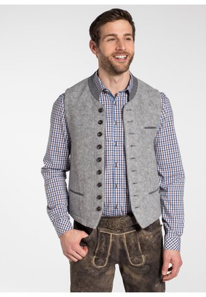 KNALLER - Waistcoat - light grey