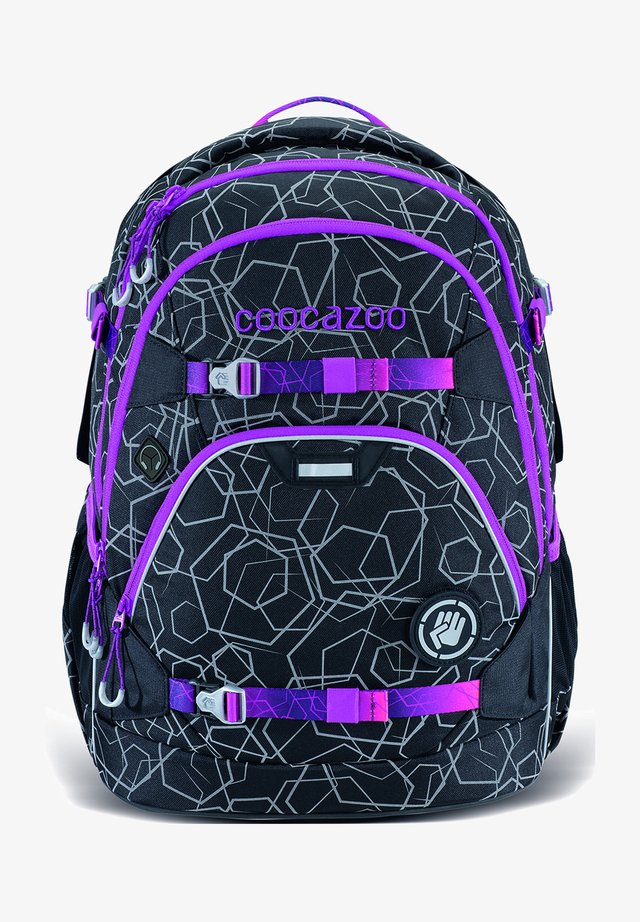 SCALERALE - School bag - laserreflect berry
