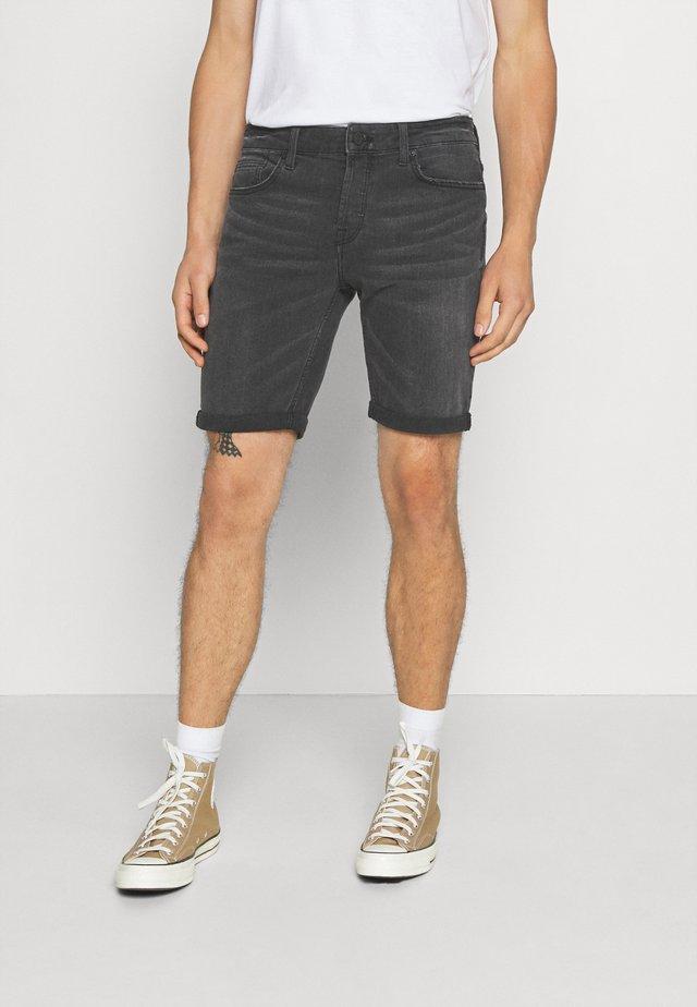 ONSPLY - Szorty jeansowe - black