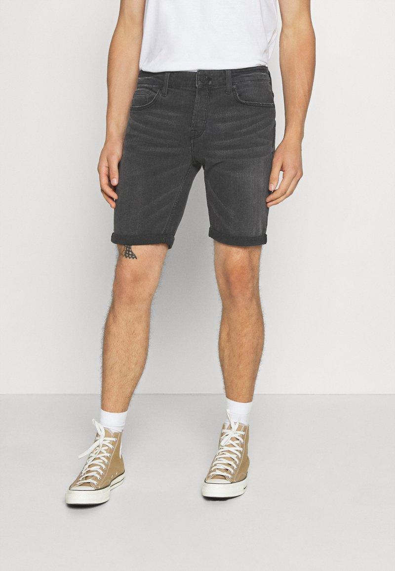 Only & Sons - ONSPLY - Denim shorts - black