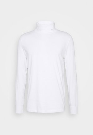 MENS ROLL NECK - Long sleeved top - white