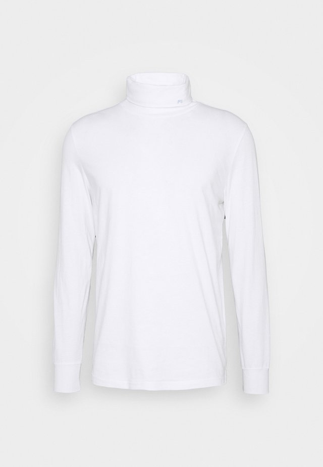 MENS ROLL NECK - Topper langermet - white