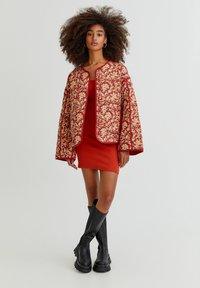 PULL&BEAR - Light jacket - mottled dark red - 1