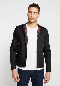 HARRINGTON - IGGY - Summer jacket - black - 0