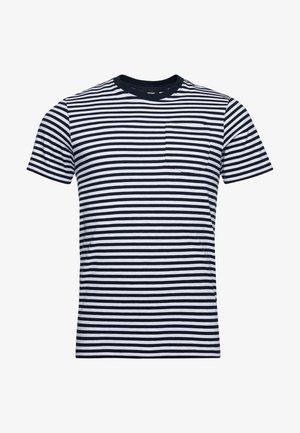 T-shirt - bas - ice marl stripe