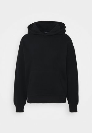 Byron Denton x NU-IN MELTED BUTTERFLY OVERSIZED HOODIE - Luvtröja - black