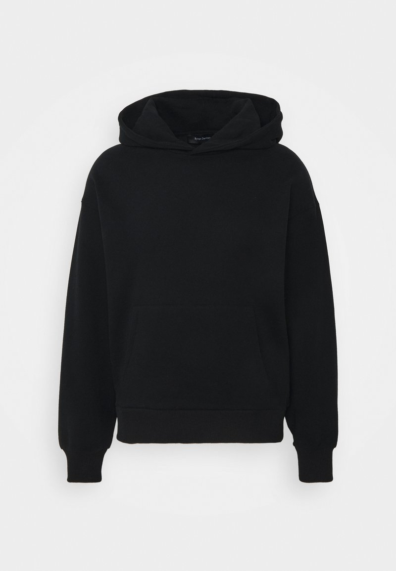 NU-IN - Byron Denton x NU-IN MELTED BUTTERFLY OVERSIZED HOODIE - Felpa con cappuccio - black