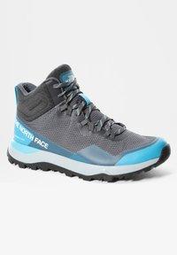 The North Face - ACTIVIST MID FUTURELIGHT - Mountain shoes - zinc grey maui blue - 4