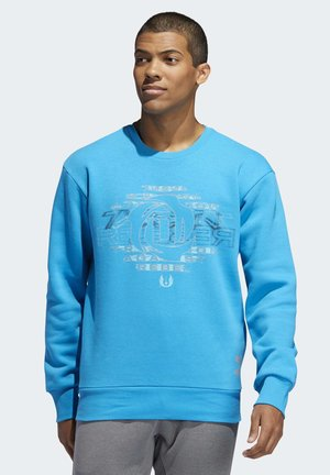 D ROSE STAR WARS CREW SWEATSHIRT - Sweatshirt - blue