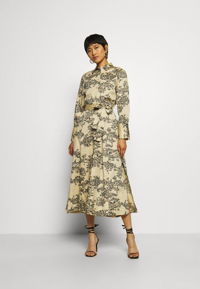 PICNIC DRESS - Skjortekjole - pebble