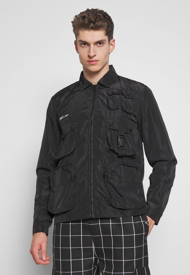DORTMUND - Summer jacket - black