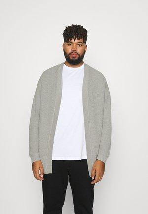 JORROB - Cardigan - light grey melange