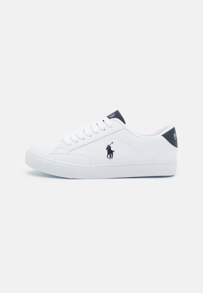 Polo Ralph Lauren - THERON IV UNISEX - Sneakers laag - white tumbled/navy