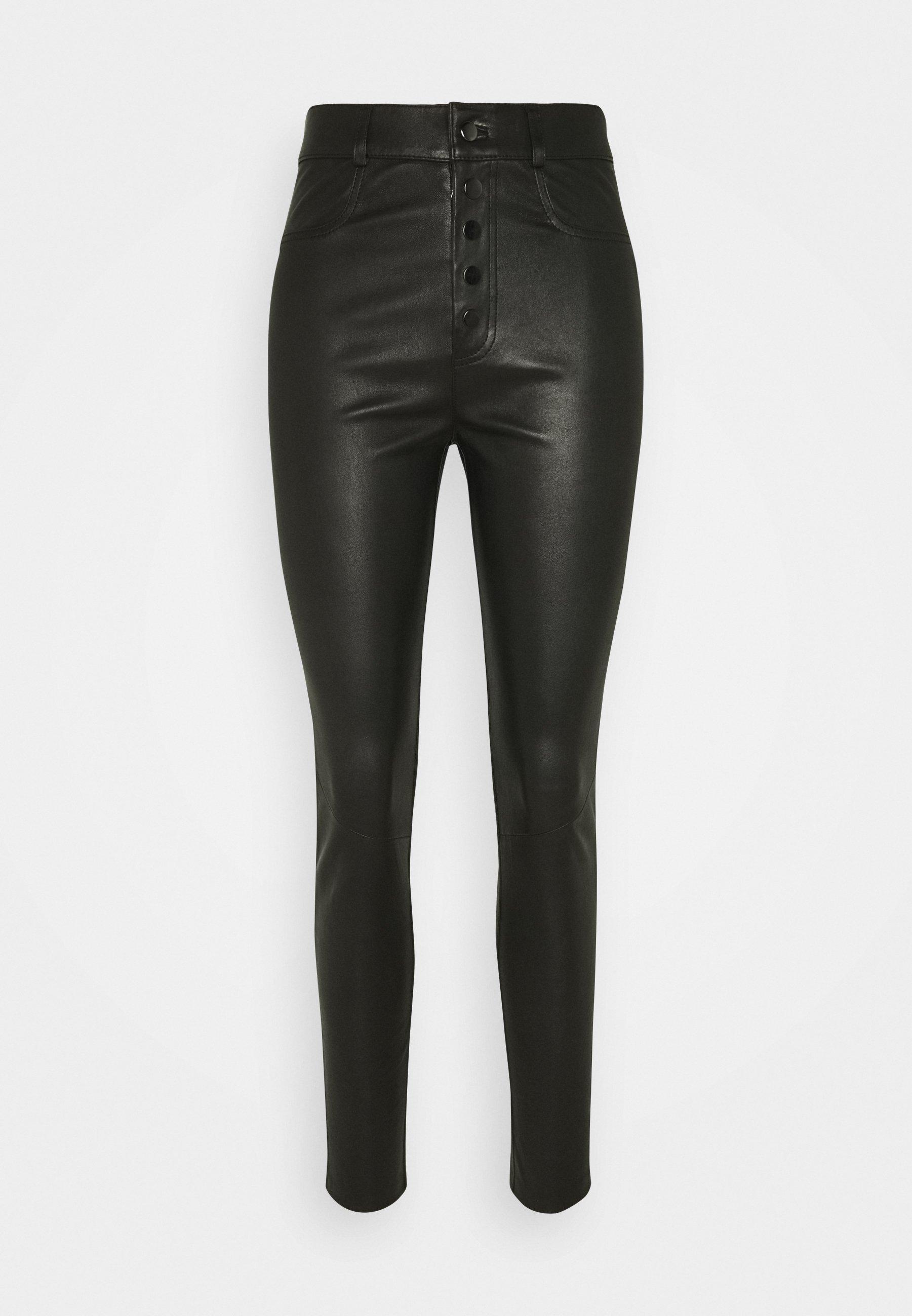 Women PLEUN - Leather trousers