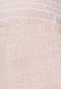 Miss Selfridge - BRUSHED KICKFLARE TROUSER - Trousers - nude - 5