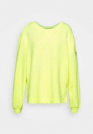 STORM  - Sweatshirt - yellow fluor