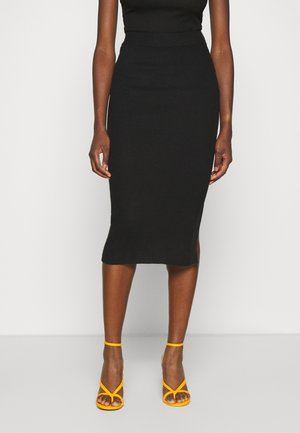 GRETA SKIRT - Pencil skirt - black