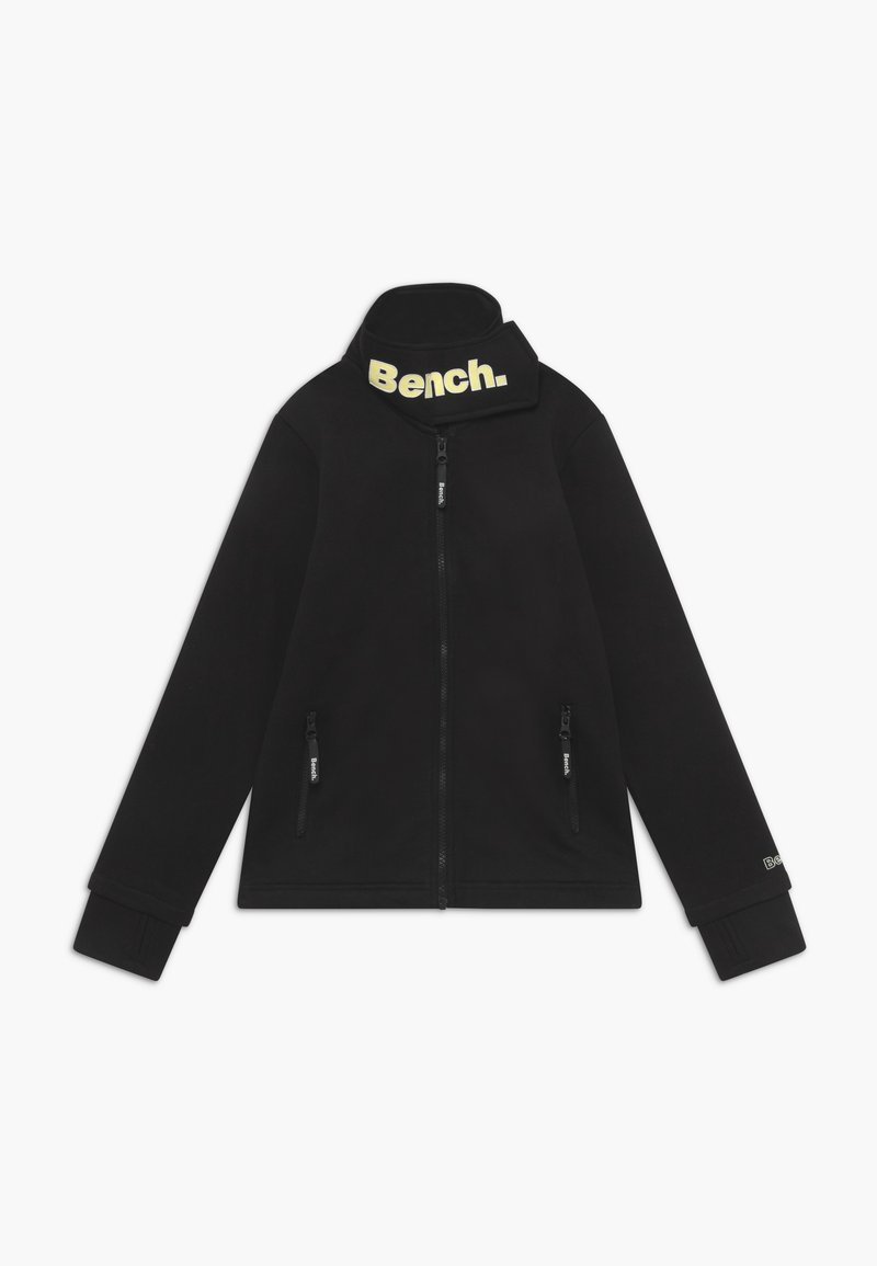 Bench - MONICA - Felpa aperta - black