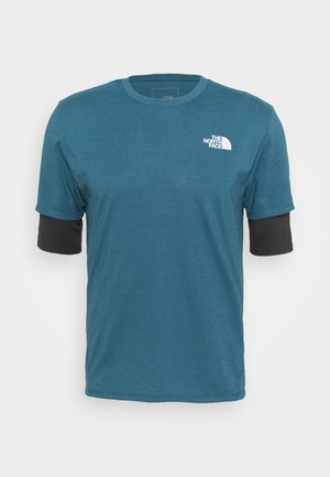 ACTIVE TRAIL - Camiseta básica - mallard blue/asphalt grey