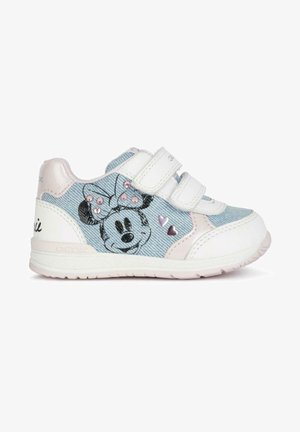Trainers - jeans white