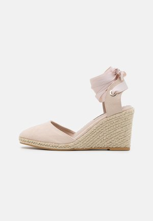 WINNY ANKL TIE  - High heeled sandals - nude