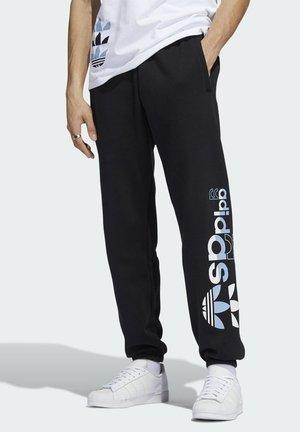 LOGO PLAY SPORTS GRAPHICS - Pantaloni sportivi - black