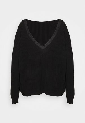 TRIM JUMPER - Svetr - black